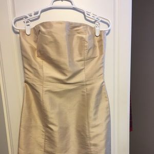 Strapless special occasion dress